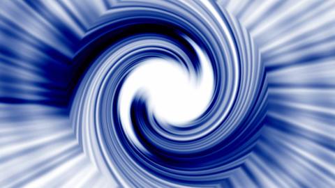 rotation blue metal turbine,energy tunnel and rays light Stock Video Footage