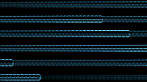 blue stripe light lines and laser weapon,ECG,Cardiac... Stock Video Footage