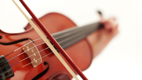 Play the violin Stock Video Footage