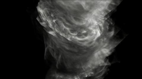 swirl smoke and whirlwind Stock Video Footage