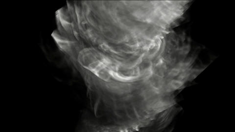 swirl smoke and whirlwind Animation