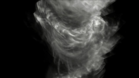 swirl smoke and whirlwind Stock Video Footage