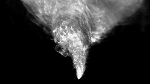 rotation tornado and smoke,end of the world,explosion Animation