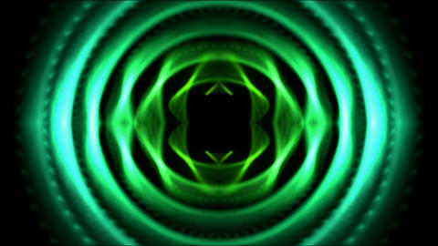 green round tunnel,tech computer game interface Animation