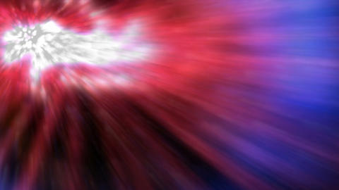 dazzling laser ray light and swirl nebula from the centre... Stock Video Footage