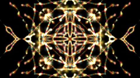 flare buddhism mandala fire flower... Stock Video Footage