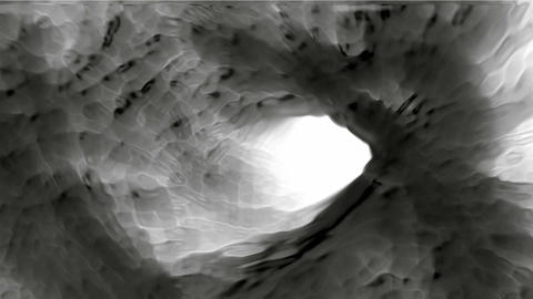 swirl carbon and ash stream,colloid hive hole and... Stock Video Footage