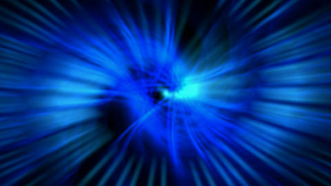 dazzling swirl ray light and fiber optic in... Stock Video Footage