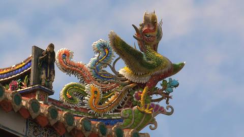 Baoan temple timelapse Footage