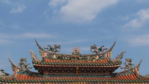 Longshan Temple timelapse Footage