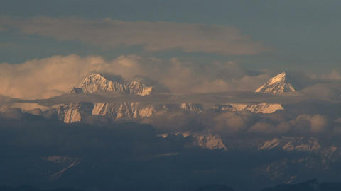 Himalaya time lapse Stock Video Footage