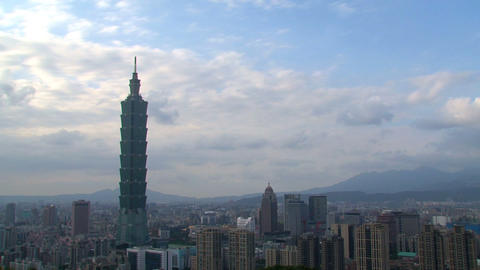 Taipei 101 time lapse Live Action