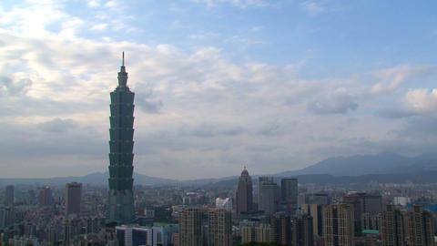 Taipei 101 time lapse Footage