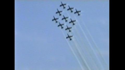 Ramstein Airshow Disaster last figure 10899 Footage