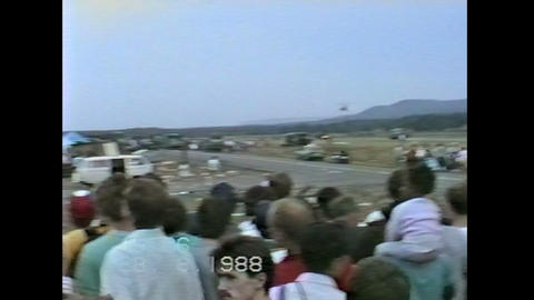 Ramstein Airshow Disaster rescue operations 10901 Footage