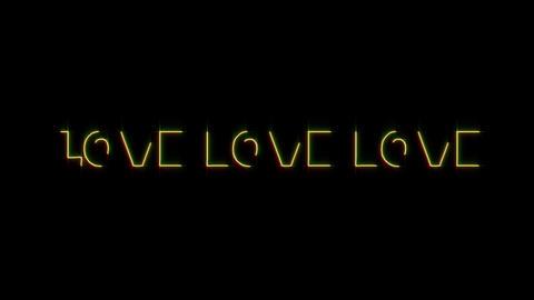 love 02 CG動画素材