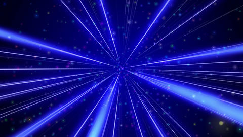 Radial blue background Stock Video Footage