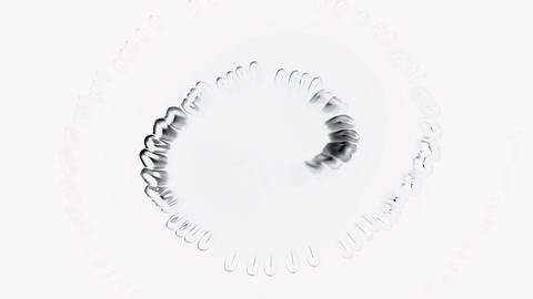 spiral pure dew,swirl waterdrops bubble and cells,like... Stock Video Footage
