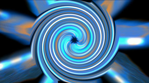 rotation tunnel hole launch rays light,turbine and gear,industrial machinery Animation
