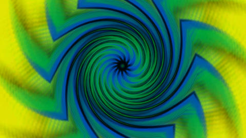 swirl windmill and flower pattern,curve rays light... Stock Video Footage