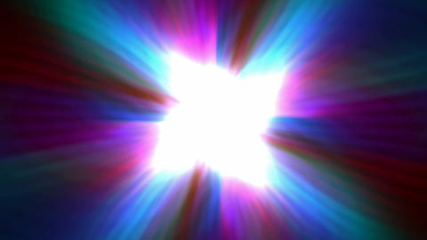 color dazzling fiber optic and cable in space,rays light... Stock Video Footage