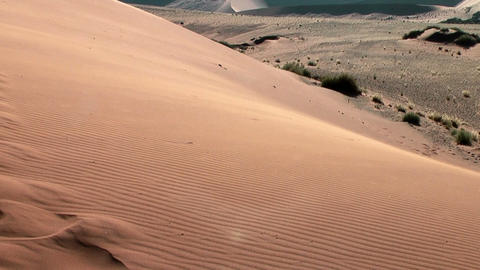 Sand Floating Over Big Daddy Dune stock footage
