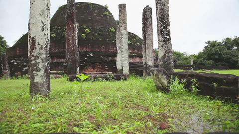 Polonnaruwa ancient city Footage