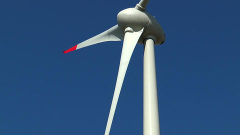 wind generator close up Stock Video Footage