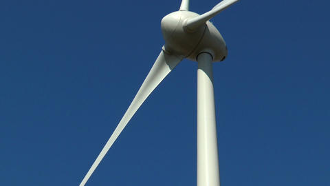 Wind Generator Close Up stock footage