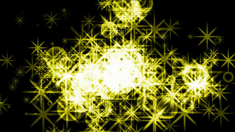 flare golden stars and soap bubbles,fireworks and... Stock Video Footage
