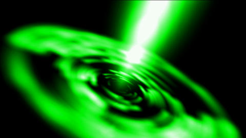 dazzling rotation laser rays light in Milky Way,power... Stock Video Footage