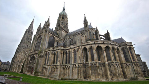 Bayeux, France, Video - The Cathedral Live Action