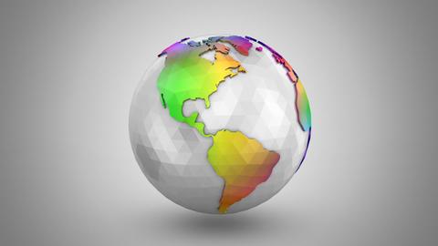 Rotating of Earth Videos animados
