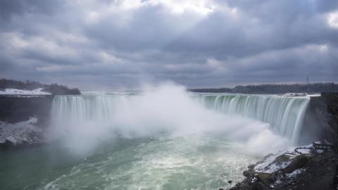Niagara, Canada - Timelapse - Niagara Falls Footage