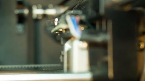 3D-printer mechanism Live Action
