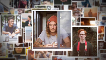 100 Photo Show After Effects Template