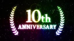 10th anniversary loop Animation