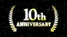 10th anniversary loop Animación