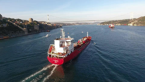 Red ship Filmmaterial
