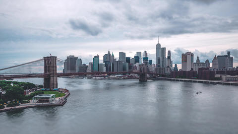 New York City , USA, Timelapse - Lower Manhattan during the day | New York City Footage