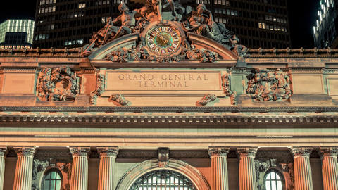 New York City , USA, Hyperlapse - Grand Central Terminal | New York City Footage