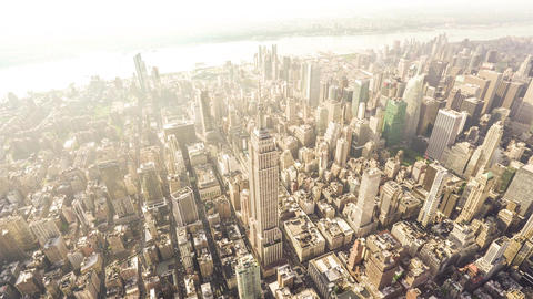 New York City , USA, Video - The Empire State Building (Wide angle) | New York C Footage