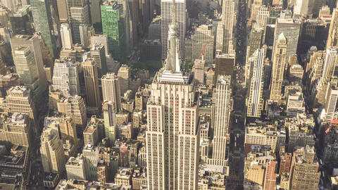 New York City , USA, Video - The top of the Empire State Building | New York Cit Footage