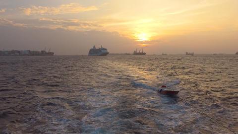 Safari trip along the Islands of the Maldives archipelago Footage