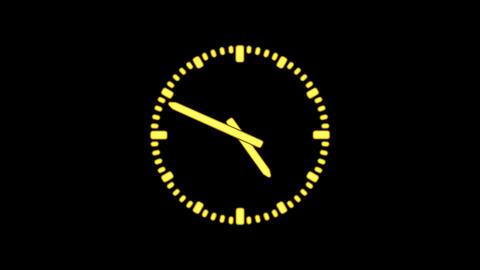 Clock8C-14-FHD-a Animation