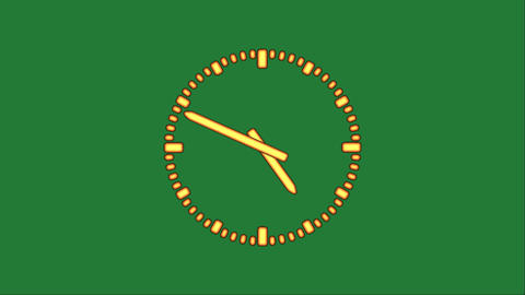 Clock8C-34-FHD-a Animation