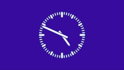 Clock8C-42-FHD-a Footage