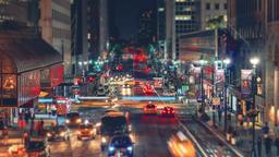 New York City , USA, Timelapse - New York City s traffic at Night Footage