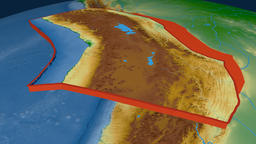 Altiplano tectonic plate. Physical Animation