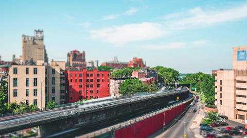 New York City , USA, Timelapse - Brooklyn during the daytime Footage